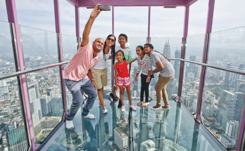 Menara KL Tower Observation Deck
