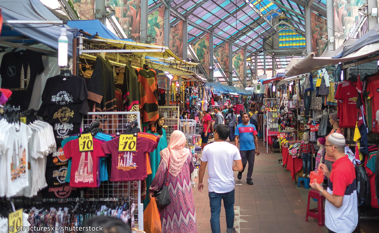 Jalan Masjid India Market KL
