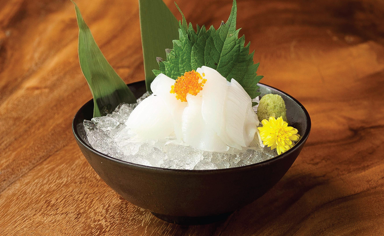 Aori Ika Sashimi