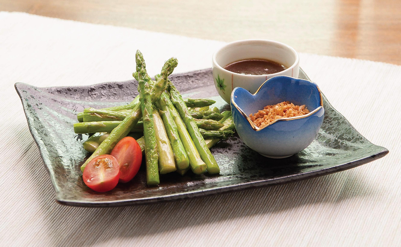 Teppan Asparagus